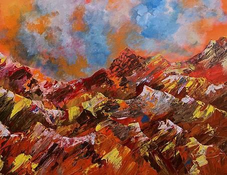 Desert Mountains by Jodi Eaton
