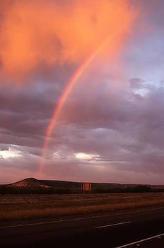 Desert Rainbow at Sunrise by Jeff Montgomery