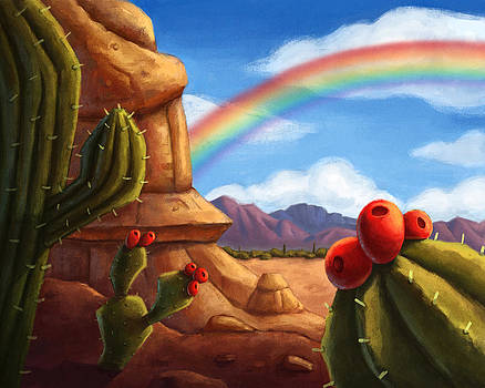 Desert Rainbow by Michael Trujillo
