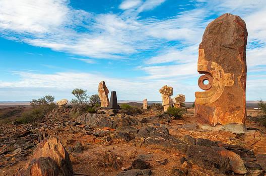 Desert Sculpture by Ross Carroll