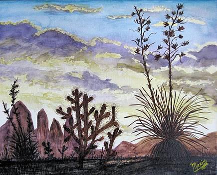 Desert Sky 2 by Maris Sherwood