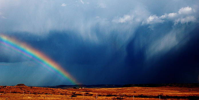 Desert Storm and Rainbow by Jeff Montgomery