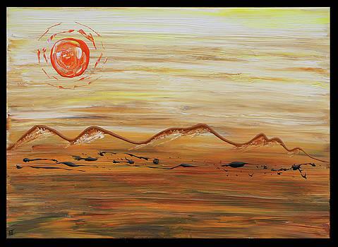 Desert Sun by Erik Tanghe