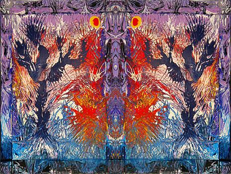 Desert Totem by Darryl Kravitz by Darryl  Kravitz