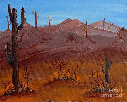 Barbara Griffin - Desert View