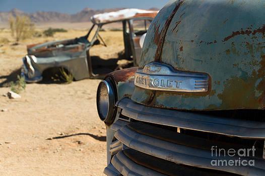 Desert Wrecks  by Juergen Klust