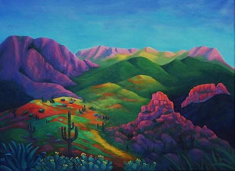 Desert Zion by Mysti Bush