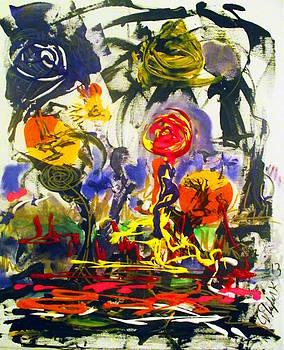 Despondent Roses by Darryl  Kravitz
