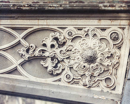 Lisa Russo - Detail of Pine Bank Arch bridge in Central Park