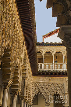 Patricia Hofmeester - Detail of the Alcazar reales in Seville