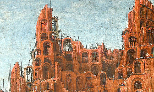 DETAIL Tower of Babel by Miguel Rodriguez