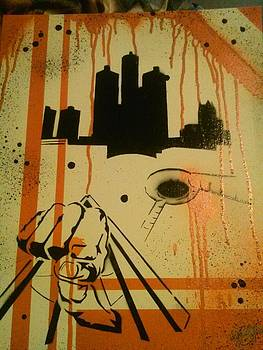 Detroit Art by Kevin  Brown