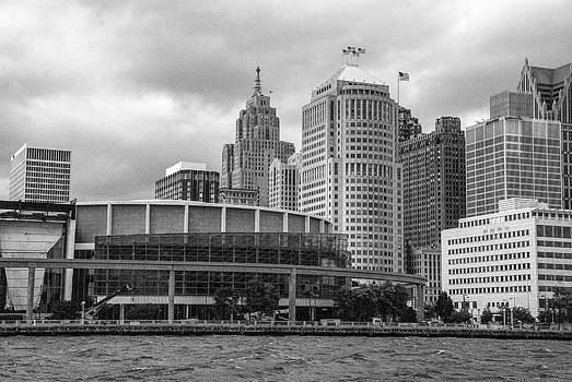 Detroit City Scape by Nicole A Talbot