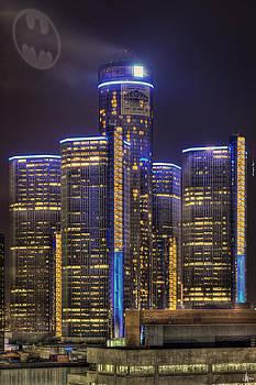 Detroit Gotham City by A And N Art