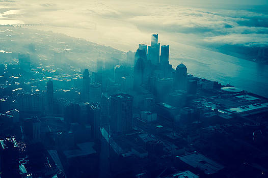 Detroit Morning by Mike Lanzetta