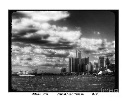 Detroit River by Donald Yenson