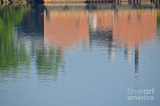 Detroit River Reflections by Jason Layden