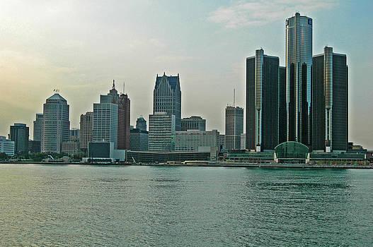 Devinder Sangha - Detroit Skyline
