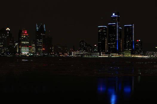Detroit Skyline by Jerome Lynch