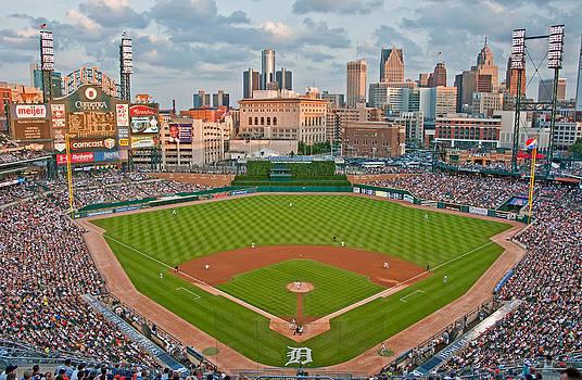 Dennis Cox - Detroit Tigers baseball