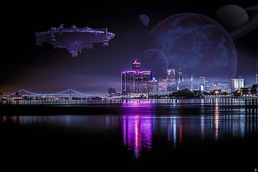 Detroit Worlds by Nicholas  Grunas