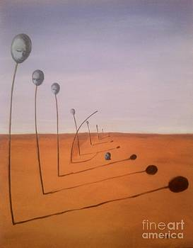 Deviant Thinking in the Desert of Perfection by Safa Al-Rubaye