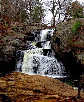 Devils Hopyard Waterfall by Stephen Melcher
