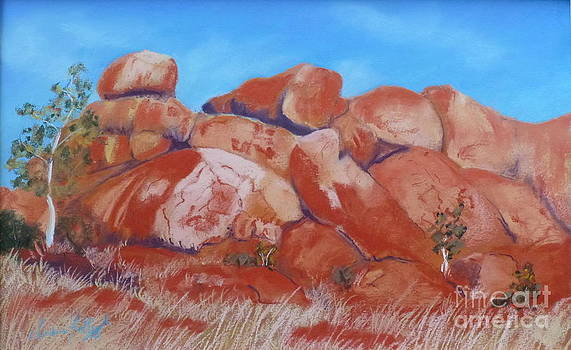 Devils Marbles NT by Nadine Kelly