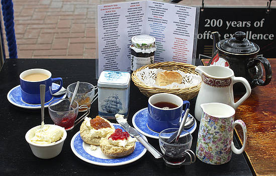 Venetia Featherstone-Witty - Devon Cream Tea