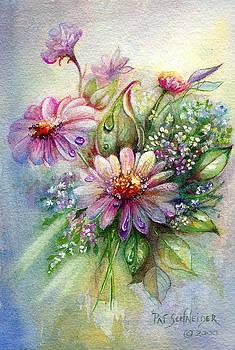 Dewdrop Daisies by Patricia Schneider Mitchell