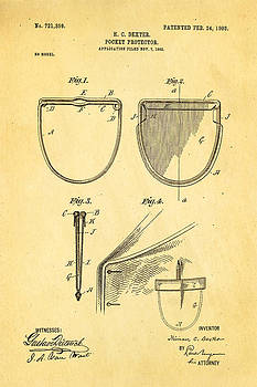 Ian Monk - Dexter Pocket Protector Patent Art 1903