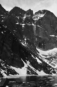 Diamond Avalanche BW by Adam Paashaus
