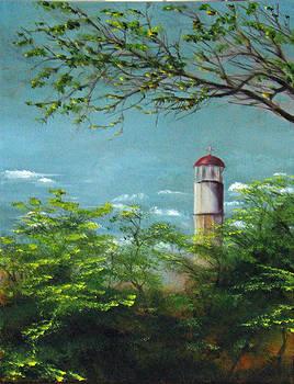 Diamond Head Lighthouse by Sherry Robinson