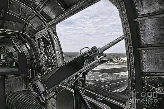Diamond LIL B-24 window by Joenne Hartley