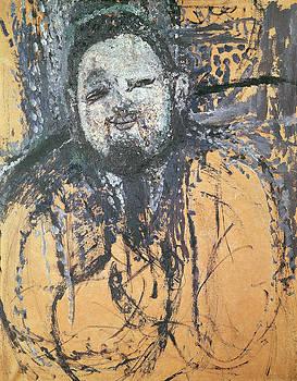 Amedeo Modigliani - Diego Rivera 1886-1957 1916 Oil On Canvas
