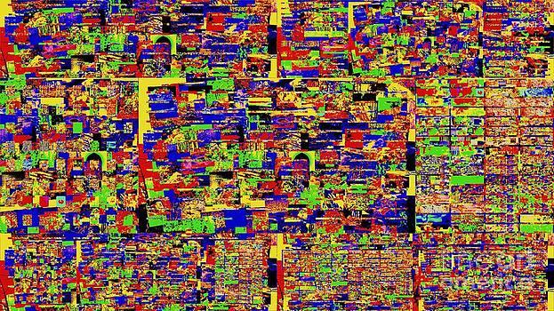 Digital noise by Pauli Hyvonen