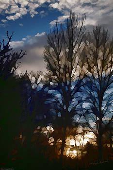 Mick Anderson - Digital Pastel Sunset