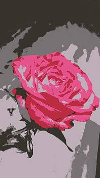 Kevin D Davis - Digital Red Rose