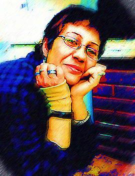 Madalena Lobao-Tello - Digital Self portrait