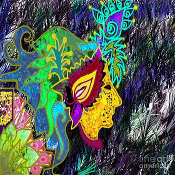 Digtal Abstract Art by Artist Nandika  Dutt