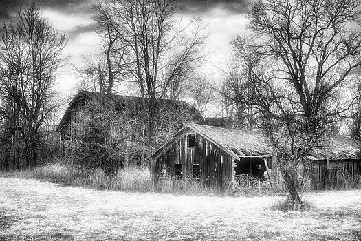 Dilapidated Barns by Jeff Holbrook