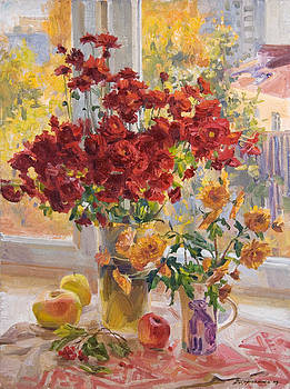 Dima's bouquet by Victoria Kharchenko