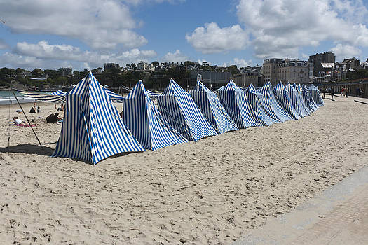 Dinard - Beach of elegance by Pier Giorgio Mariani