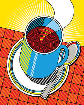 Diner Coffee by Ron Magnes