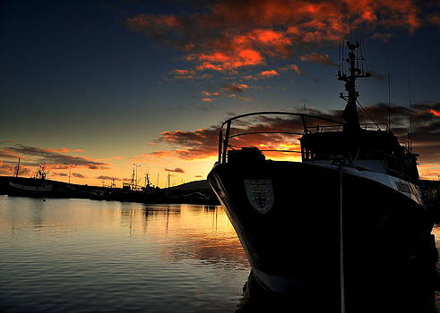 Dingle Harbour Sunset by Florian Walsh