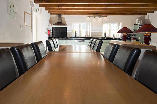 Dining room interor by Corepics