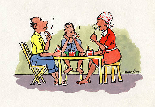 Dinner Time by Anthony Mwangi