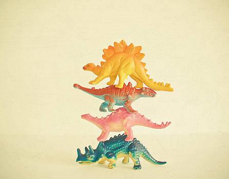 Dinosaur Antics by Cassia Beck
