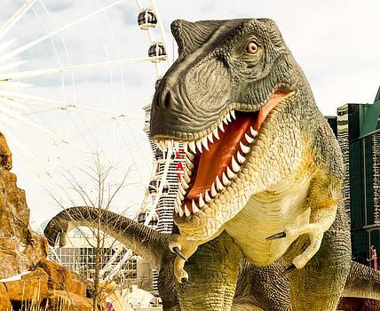 Dinosaur attack. by Tibor Co