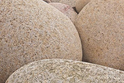 Dinosaur eggs of Porth Nanven by Julian Elliott